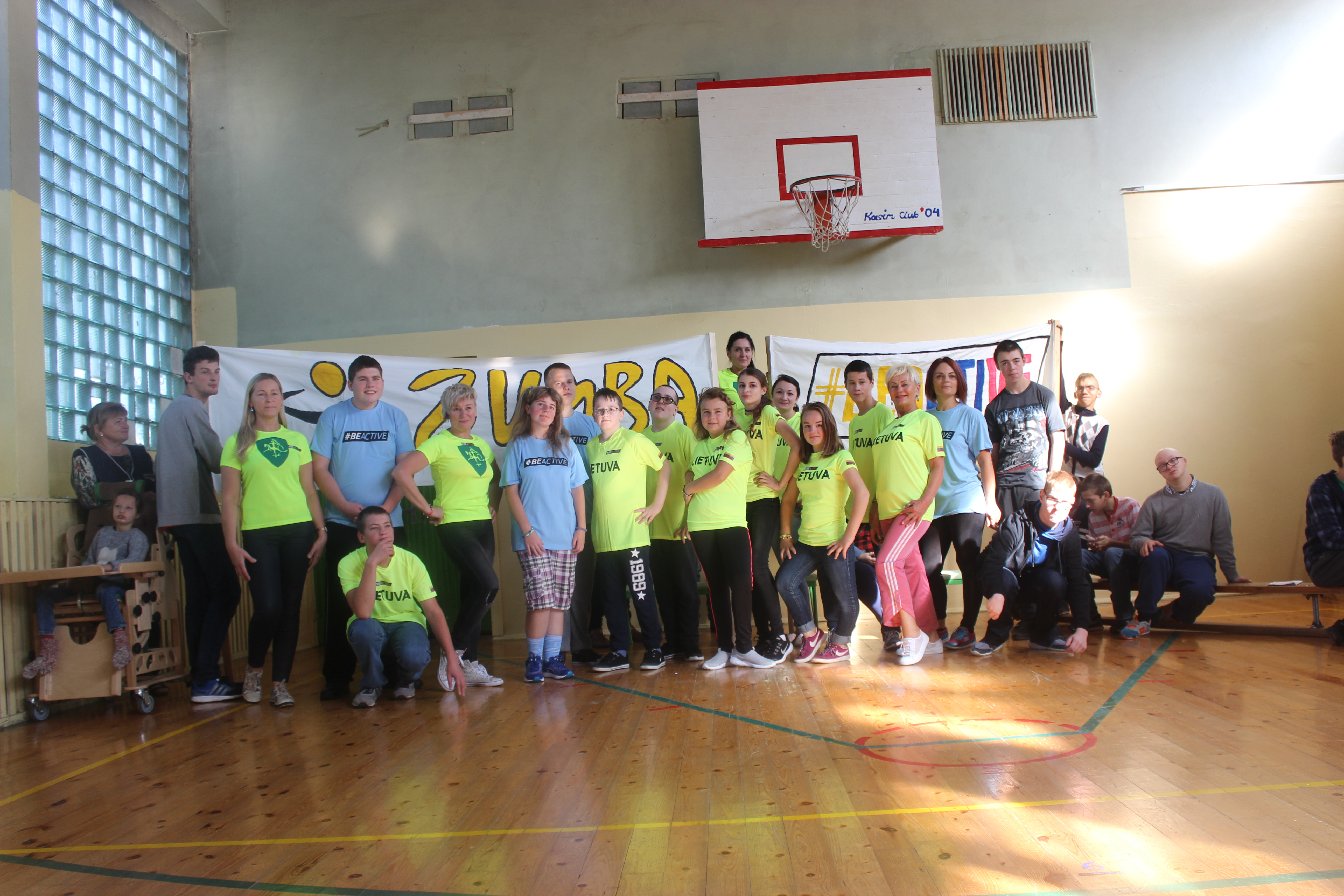 Read more about the article Gimnastika visiems